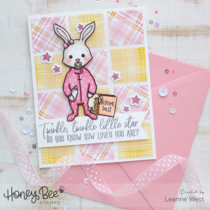 Honey Bee Stamps - DOUBLE STITCHED SQUARES - Die Set