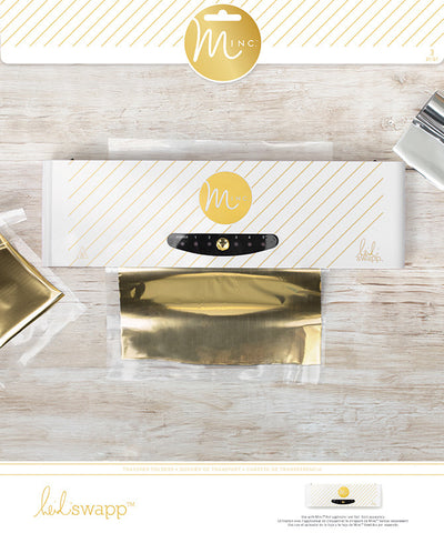 Heidi Swapp Minc Transfer Folder - Two Sizes (2pc) - by WeR Memory Keepers - Hallmark Scrapbook
