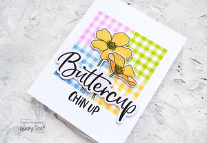 Honey Bee Stamps - BITTY PATTERNS - Clear Stamps