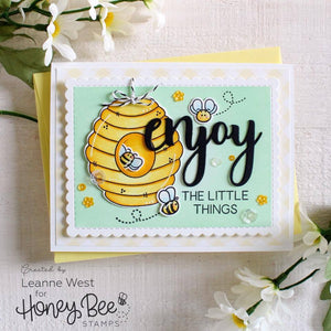 Honey Bee Stamps - BEE HIVE - Die Set