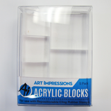 Art Impressions - Acrylic VARIETY Stamp Block Set - 5pc