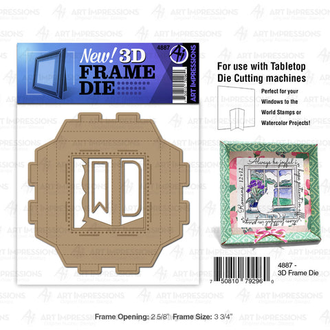 Art Impressions - 3D FRAME - Die Set - 40% OFF!