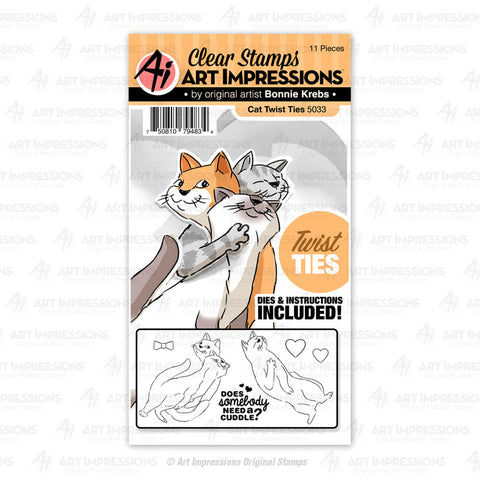 Art Impressions - CAT - Twist Ties - 30% OFF!