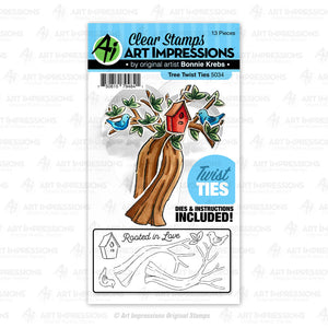 Art Impressions - TREE - Twist Ties - 40% OFF!