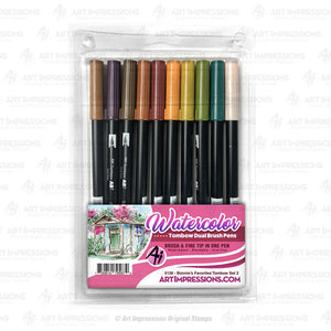Art Impressions - BONNIES FAVORITES 2 Tombow Dual Brush Pen Set 10pk