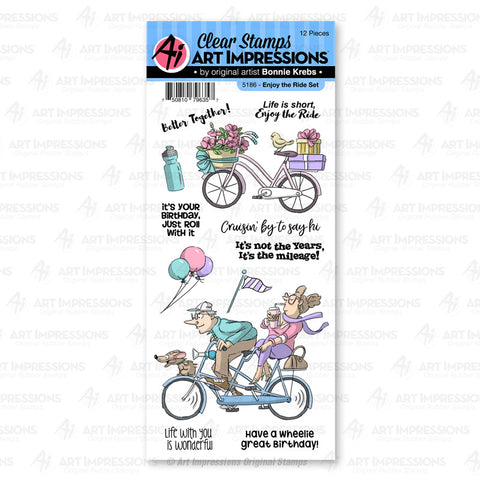 Art Impressions - ENJOY THE RIDE - Stamp Set