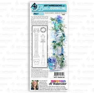 Art Impressions - COLUMNS - Stamp Set - 20% OFF!
