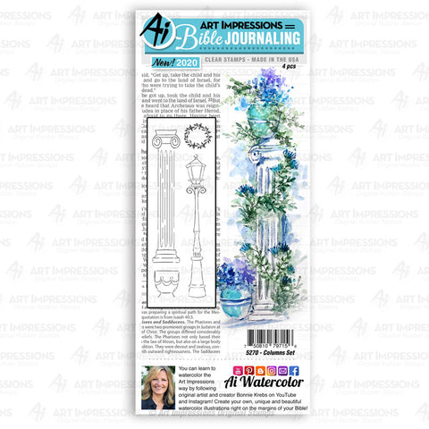 Art Impressions - COLUMNS - Stamp Set