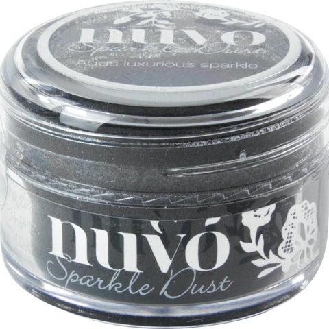 Nuvo Sparkle Dust - BLACK MAGIC - By Tonic Studio - Hallmark Scrapbook - 1