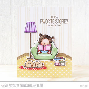 My Favorite Things - OUR STORY - Die-namics Die Set by Birdie Brown - Hallmark Scrapbook - 3