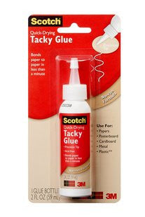 Scotch - QUICK DRY TACKY GLUE - Hallmark Scrapbook