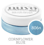 Nuvo Embellishment MOUSSE - CORNFLOWER BLUE - By Tonic Studio - Hallmark Scrapbook - 5