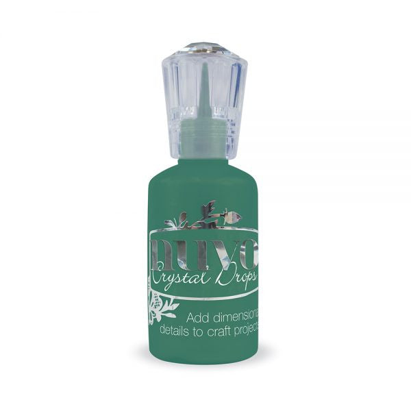 Nuvo Crystal Drops - WOODLAND GREEN - By Tonic Studio
