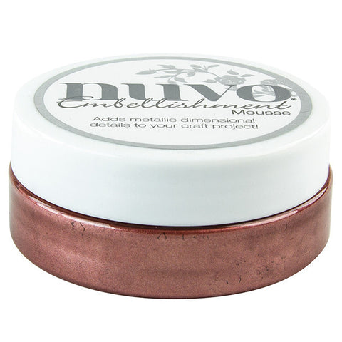 Nuvo Embellishment MOUSSE - BURNISHED BRONZE - By Tonic Studio