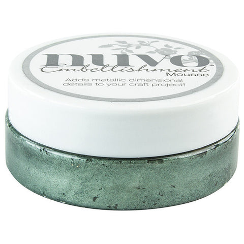 Nuvo Embellishment MOUSSE - SEASPRAY GREEN - By Tonic Studio