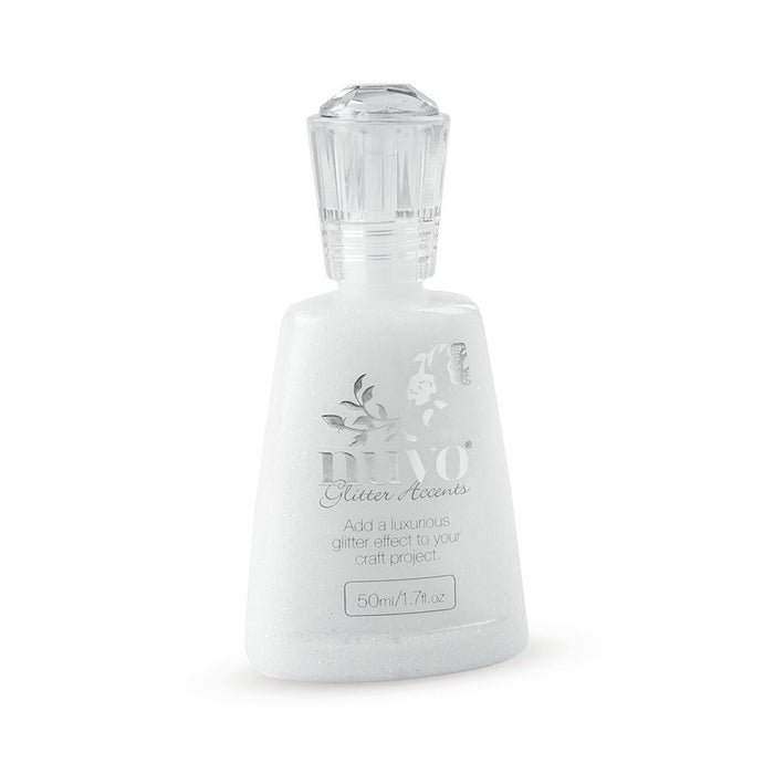 Nuvo Glitter Accent - FRESH SNOW - By Tonic Studio