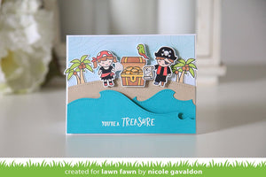 Lawn Fawn - AHOY MATEY - Clear Stamps