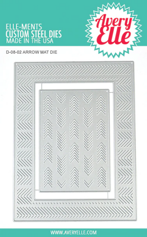 Avery Elle - ARROW MAT - Elle-Ments Die Set