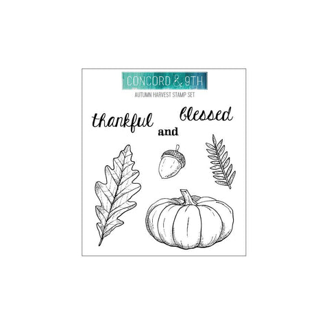 Concord & 9th - AUTUMN HARVEST - Stamps Set - 20% OFF!*