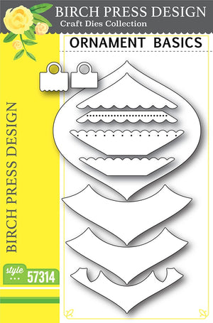 Birch Press Designs - ORNAMENT BASICS - Die Set - 20% OFF!