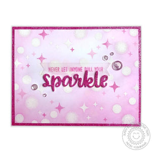 Sunny Studio - BORN TO SPARKLE - Stamps Set