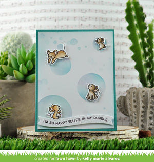Lawn Fawn - BUBBLES OF JOY - Stamps Set