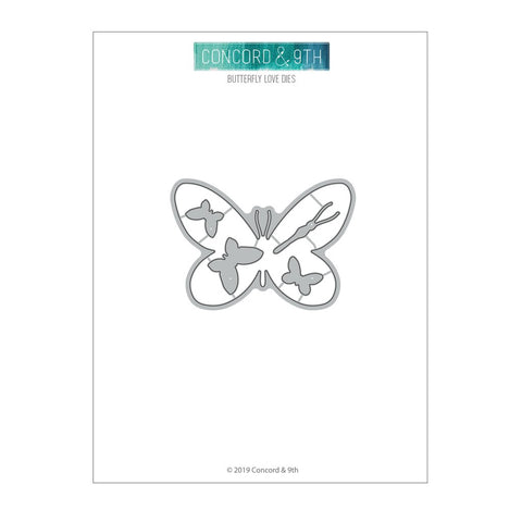 Concord & 9th - BUTTERFLY LOVE - Dies set