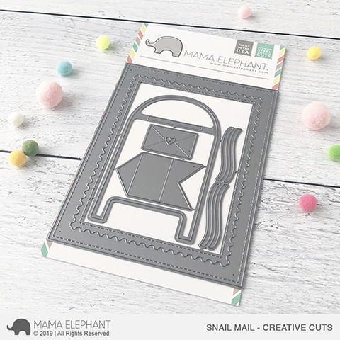 Mama Elephant - SNAIL MAIL - Creative Cuts Dies Set