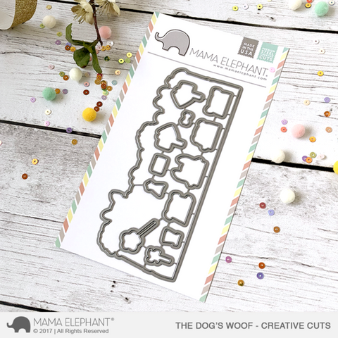 Mama Elephant - DOG'S WOOF - Creative Cuts Dies