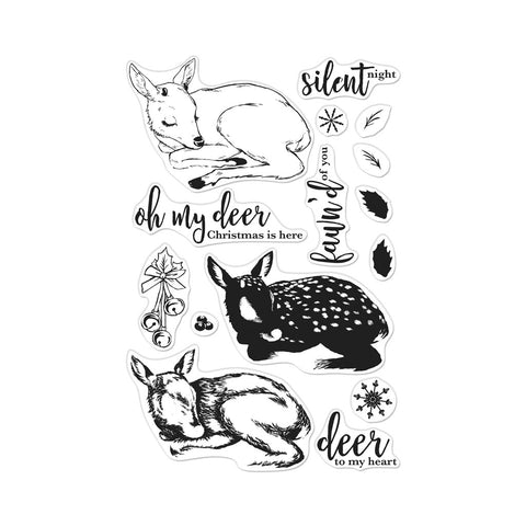 Hero Arts - Color Layering FAWN - Clear Stamps