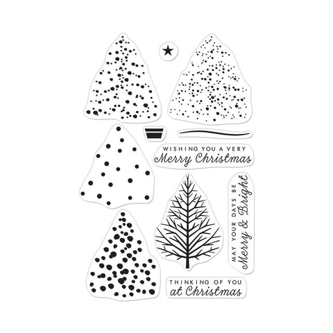 Hero Arts - Color Layering CHRISTMAS TREE - Clear Stamps