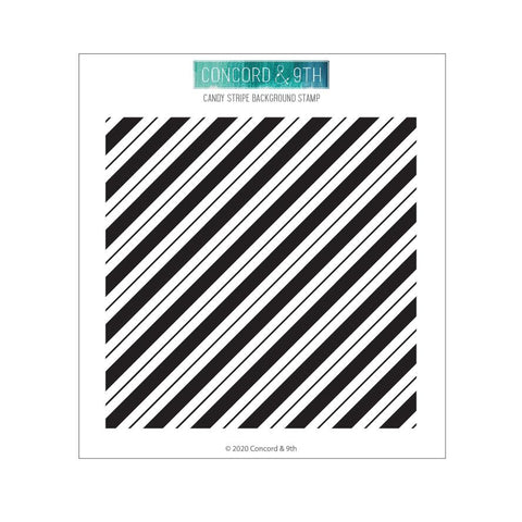 Concord & 9th - CANDY STRIPES - Stamp Set