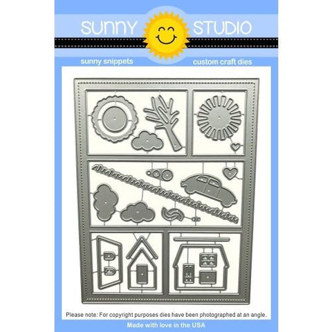 Sunny Studio - COMIC STRIP EVERYDAY - Die Set