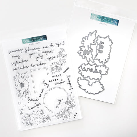 Concord & 9th - ANNUALS Stamps & Dies BUNDLE Set