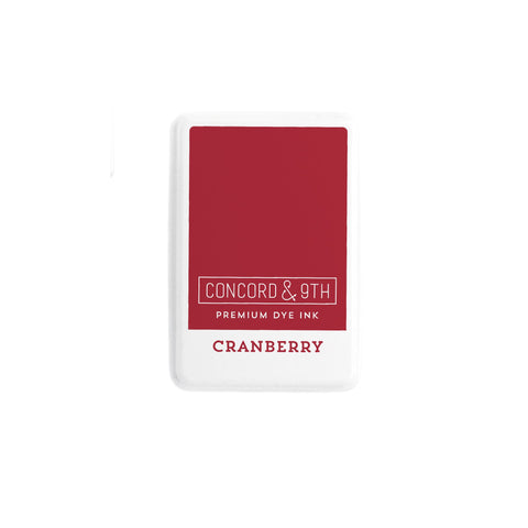 Concord & 9th Ink Pad - CRANBERRY