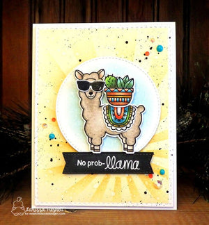 Newton's Nook Designs - LOVABLE LLAMAS Dies Set