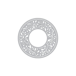 Hero Arts - GREENERY MEDALLION - Fancy Die
