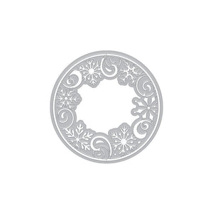 Hero Arts - SNOWFLAKE MEDALLION - Fancy Die