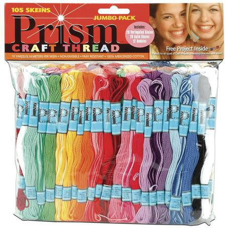 Prism - CRAFT THREAD Jumbo Pack 9.9yd 105/Pkg - Hallmark Scrapbook