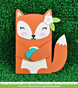 Lawn Fawn - STITCHED GIFT CARD POCKET - Lawn Cuts Dies