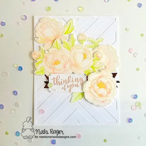 Newton's Nook Designs - PEONY BOOMS Clear Stamps Set