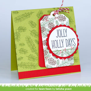 Lawn Fawn - Deck the Halls - LAWN CUTS dies 9 pc - Hallmark Scrapbook - 3
