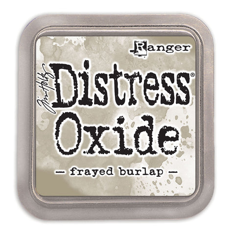 Tim Holtz Ranger - Distress Oxide Ink Pad - FRAYED BURLAP