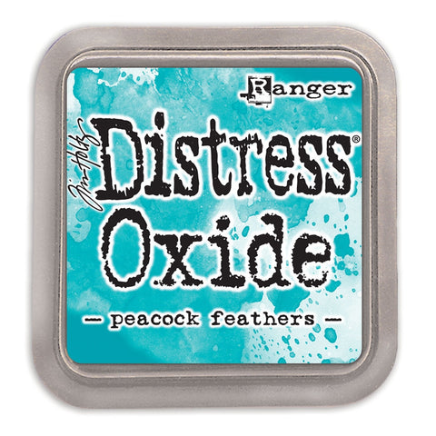 Tim Holtz Ranger - Distress Oxide Ink Pad - PEACOCK FEATHERS