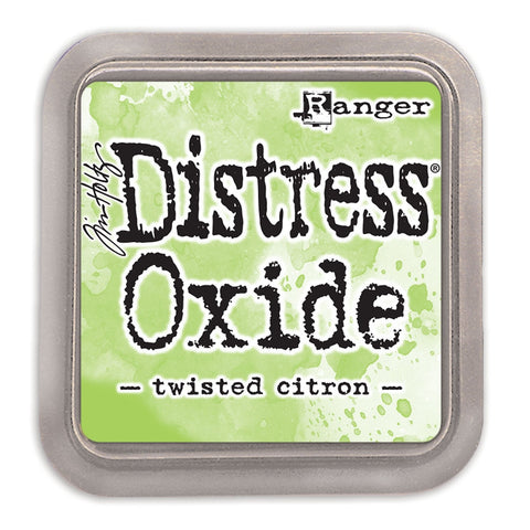 Tim Holtz Ranger - Distress Oxide Ink Pad - TWISTED CITRON