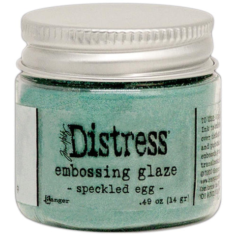 Tim Holtz - Distress Embossing Glaze - SPECKLED EGG - 20% OFF!