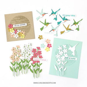 Concord & 9th - ECLECTIC GARDEN - Stamps Set