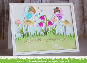 Lawn Fawn - FAIRY FRIENDS - Clear STAMPS - Hallmark Scrapbook - 6
