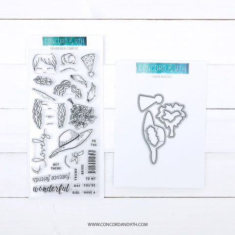 Concord & 9th - FASHION WEAR - Stamps and Die BUNDLE Set