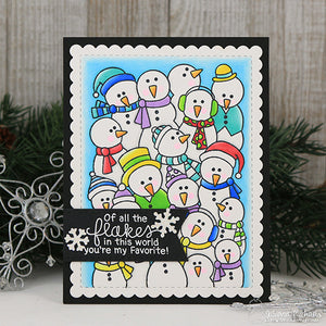 Newton's Nook Designs - FROZEN FELLOWSHIP Clear Stamps Set